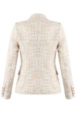 Tweed Double Breast Blazer