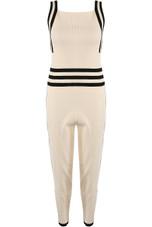 Knitted Sleeveless Top Loungewear Set