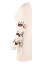 Feathers Trim Jumper Dress - Mix Colours Pack