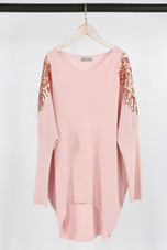 Sequin Wings Trim Shoulders Jumper - Mix Colours Pack