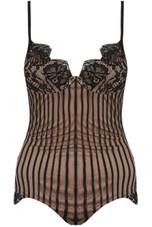 Scallop Lace Mesh Bodysuits