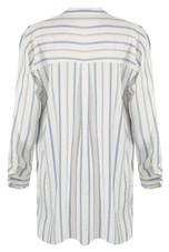 Stripes Single Pleat Dress