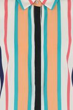 Stripes Hidden Placket Shirt