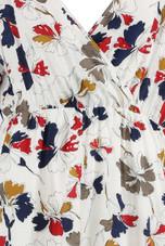 Floral Low Back Shift Dress