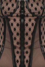 Lace Trim Padded Bodysuits