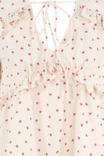 Heart Print Blouse - 3 colours
