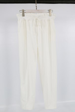 Pleated Waist Tie Up Trousers