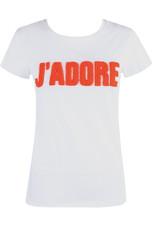 'J'ADORE' Slogan Tee