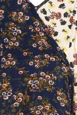 Floral Two Tone Wrap Cami Dress - 2 colours