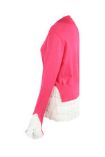 Fine Knit Jumper With Faux Shirt Trim- Mixed Pack