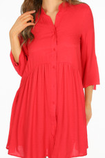 Casual Smock Dress - 6 Colours