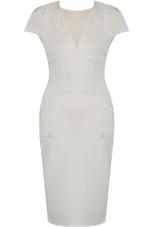 Floral Applique Midi Dress - 2 Colours