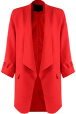 Tailored Waterfall Blazer- 5 colours