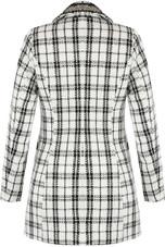 Monochrome Longline Tweed Blazer- 2 Colours