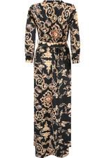 Scarf Print Wrap Maxi Dress - 4 Prints