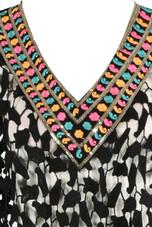 V Neck Crochet Kaftan - 3 Colours