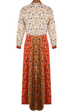 Floral Maxi Shirt Dress - 2 Colours