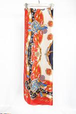 Tribal Print Silk Scarf - 6 Colours