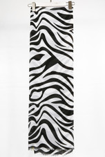 Zebra Print Scarf - 4 Colours
