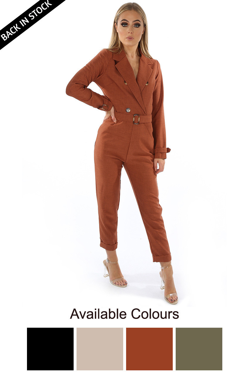75db4ebf0bc Safari Style Retro Jumpsuit - Buy Fashion Wholesale in The UK