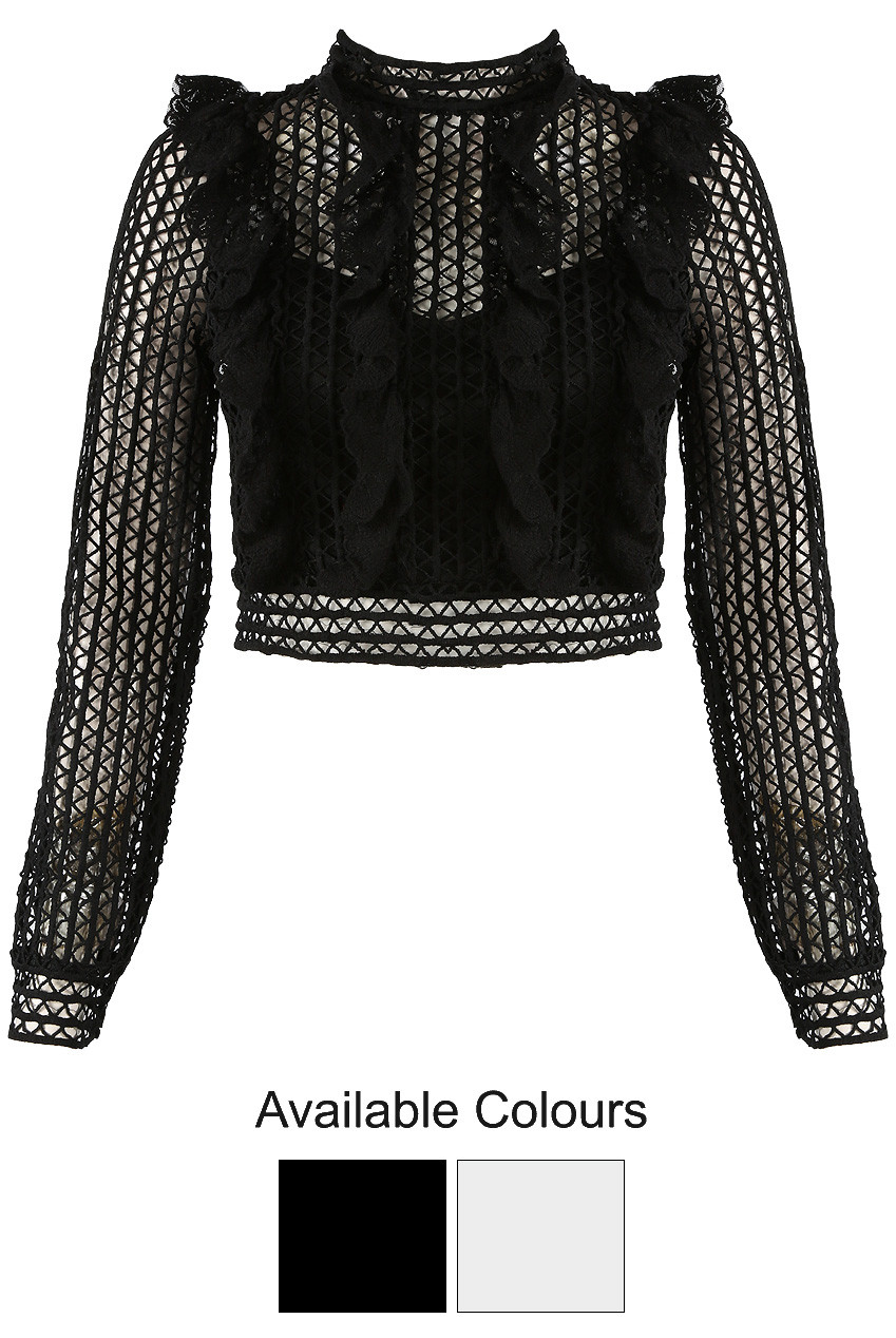 f780a4fbbdf6e Tops - Lace Tops - Babez London - Wholesale Ladies Clothing Manchester
