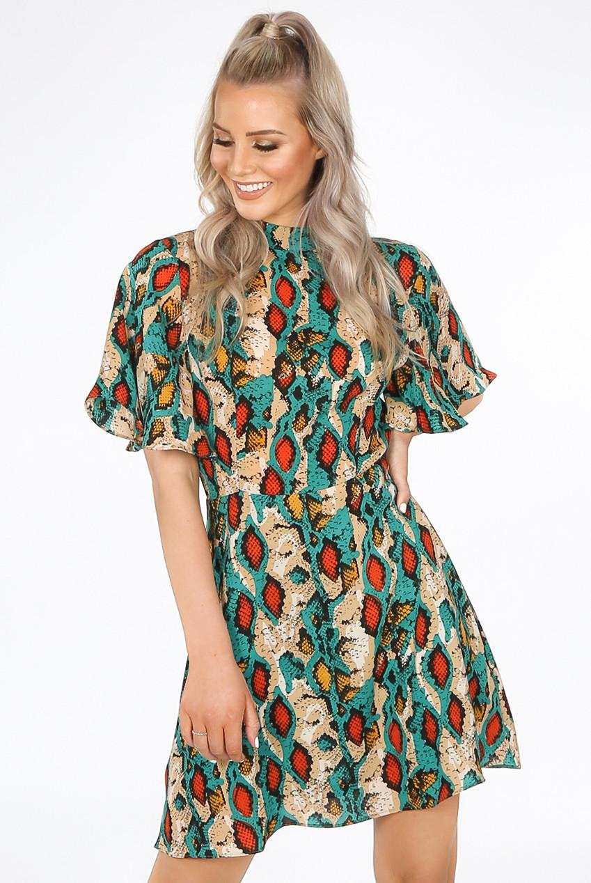 38601219938e1 Mint Green Skater Dress Uk | Saddha
