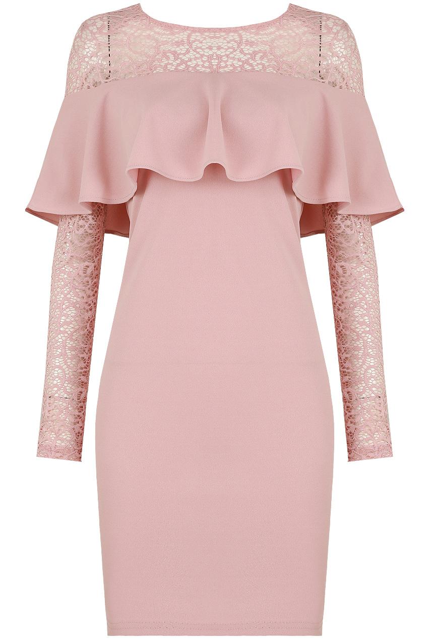 dfaa67f26af1 Bardot Frill Lace Midi Dress - 3 Colours- Buy Fashion Wholesale in The UK