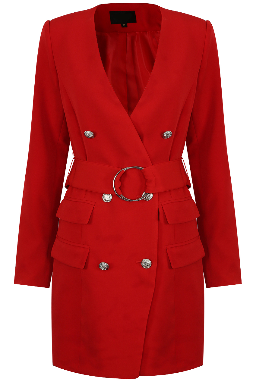 ec22720906db O Ring Double Breasted Coat - Buy Fashion Wholesale in The UK