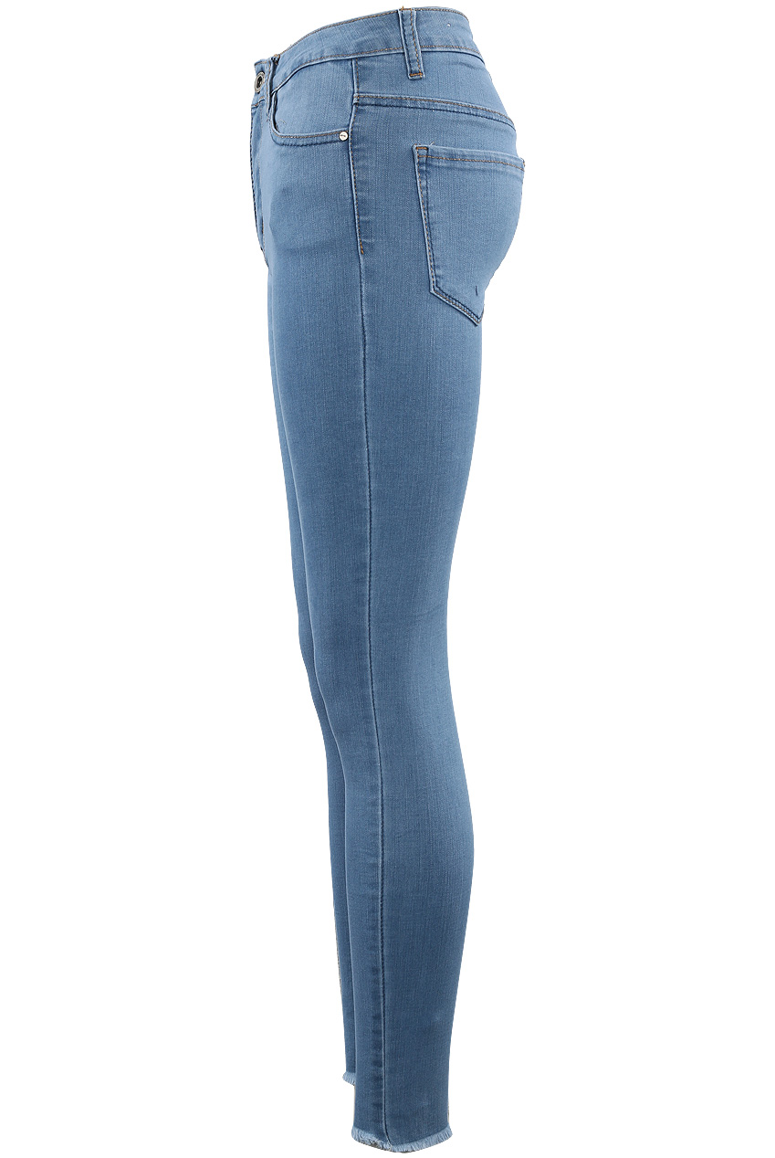 a801e768dd Mid Blue Skinny Push Up Jeans - Buy Fashion Wholesale in The UK