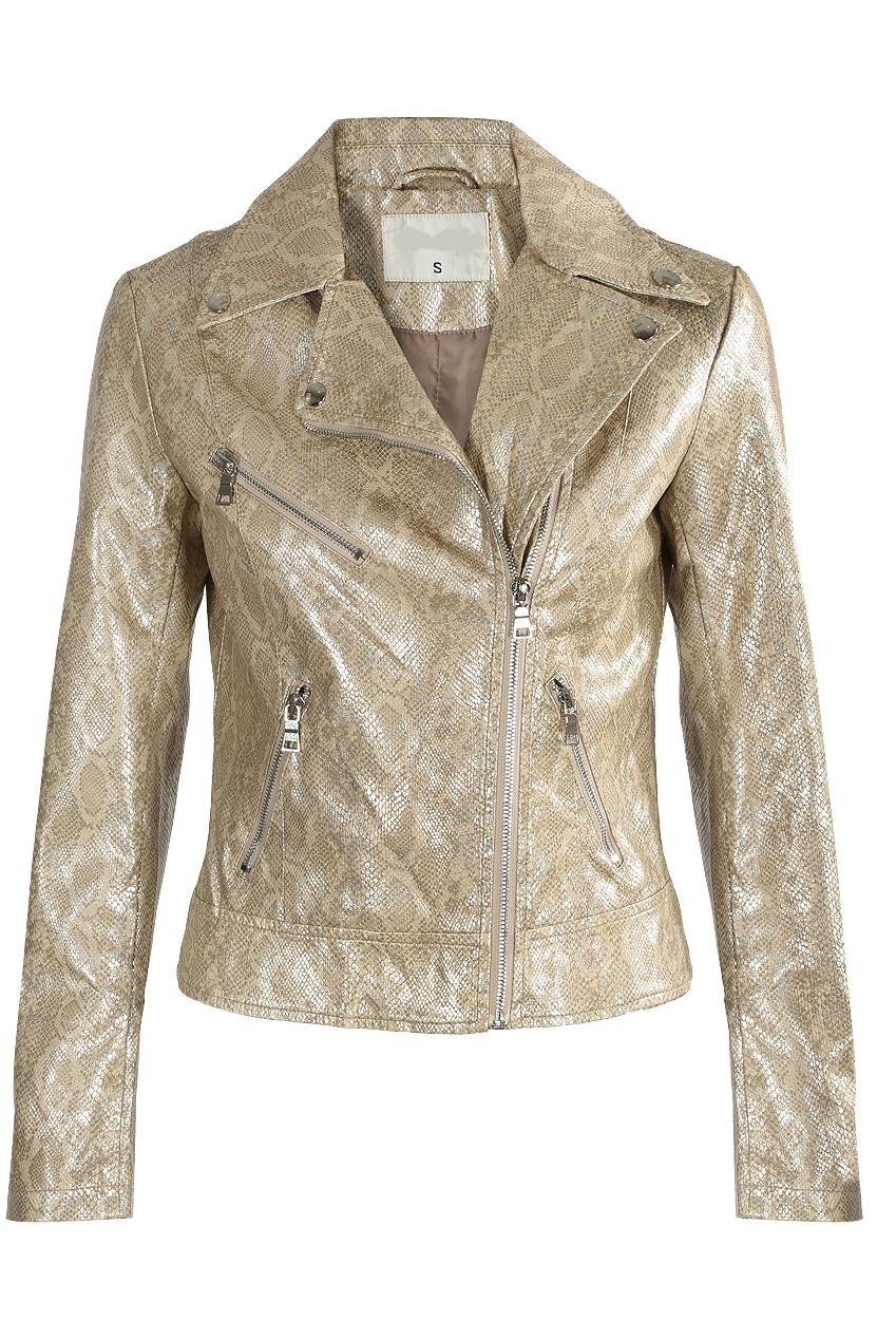 cfba9debd48d Faux Leather Snake Print Biker Jacket - Buy Fashion Wholesale in The UK