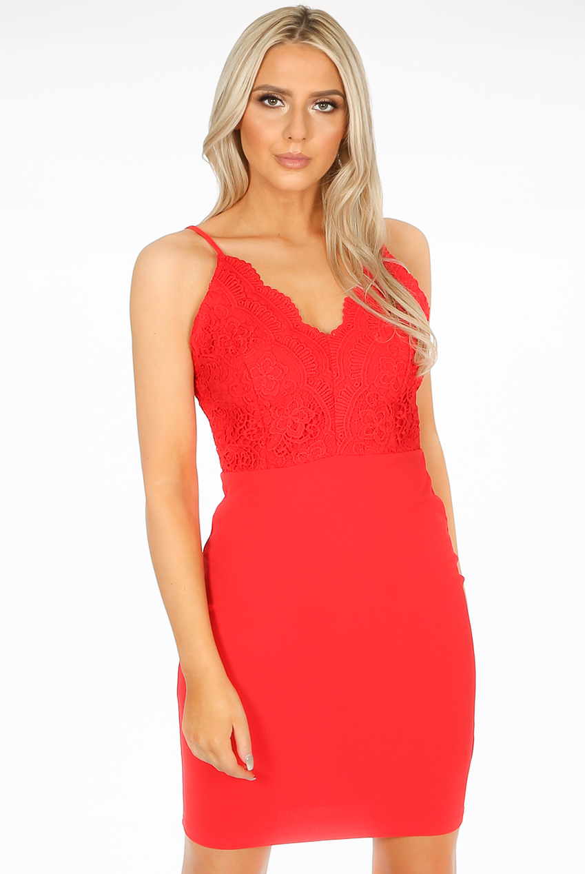 caf4e867539 Lace Bodice Bodycon Dress - Buy Fashion Wholesale in The UK