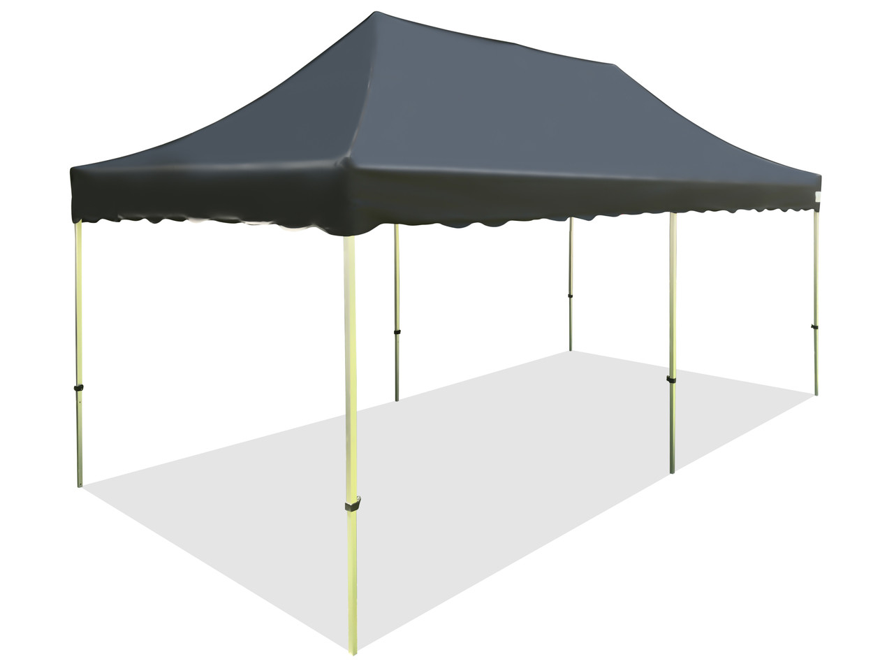 California Palm Canopy Frame And Flame Retardant Top Size10x20