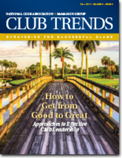 Club Trends - How to Get from Good to Great