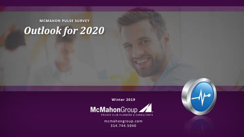 McMahon Group Pulse Survey Report - Outlook 2020