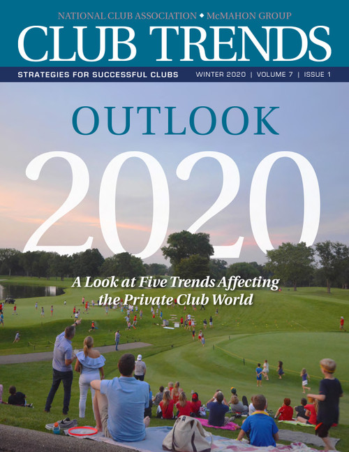 Private club outlook 2020