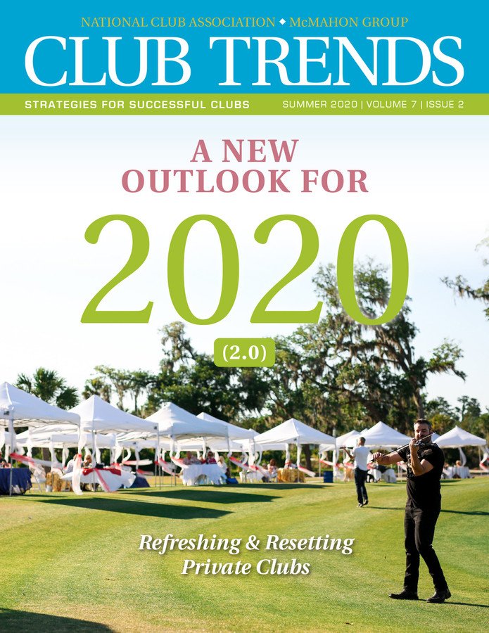 National Club Association and McMahon Group's Private Club Outlook for 2020 - post COVID-19