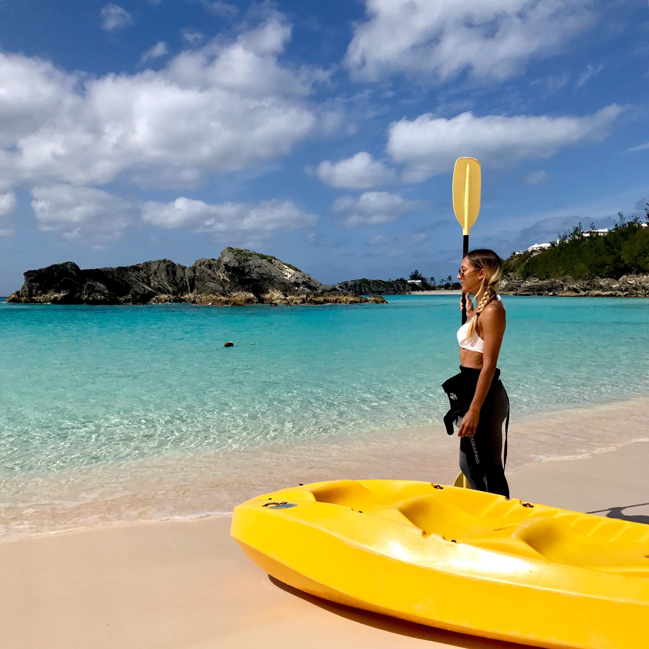 Sea Kayaking in the Bahamas