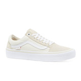 Vans Old Skool Pro Shoes Mens in Marshmallow White