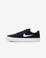 Nike SB Charge Canvas Shoes Mens in Black White