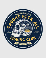 The Mad Hueys FK All Club Sticker in Navy