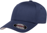 Flexfit Wooly Combed Youth Cap in Navy