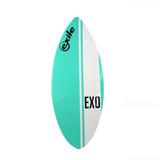 Exile Skimboards EX0 52in 3/4 Large in Teal Vertical Stripe