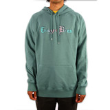 Trigger Bros Old English Fade Premium Hoodie Mens in Sage