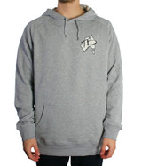 Trigger Bros 90s Revival Map LW Hoodie Mens in Grey