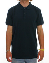 Trigger Bros Polo Top Mens in Navy