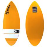 Exile Skimboards EX0 52in 3/4 Large in Orange Horizontal Stripe