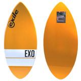 Exile Skimboards EX0 48in 5/8 Medium in Orange Horizontal Stripe