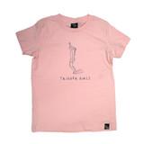 Trigger Girls Indi Surf Tee Junior Girls in Pink
