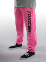 Tracksuit Pant Trigger Rose Pink Junior