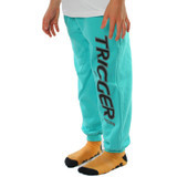 Tracksuit Pant Trigger Turquoise Junior
